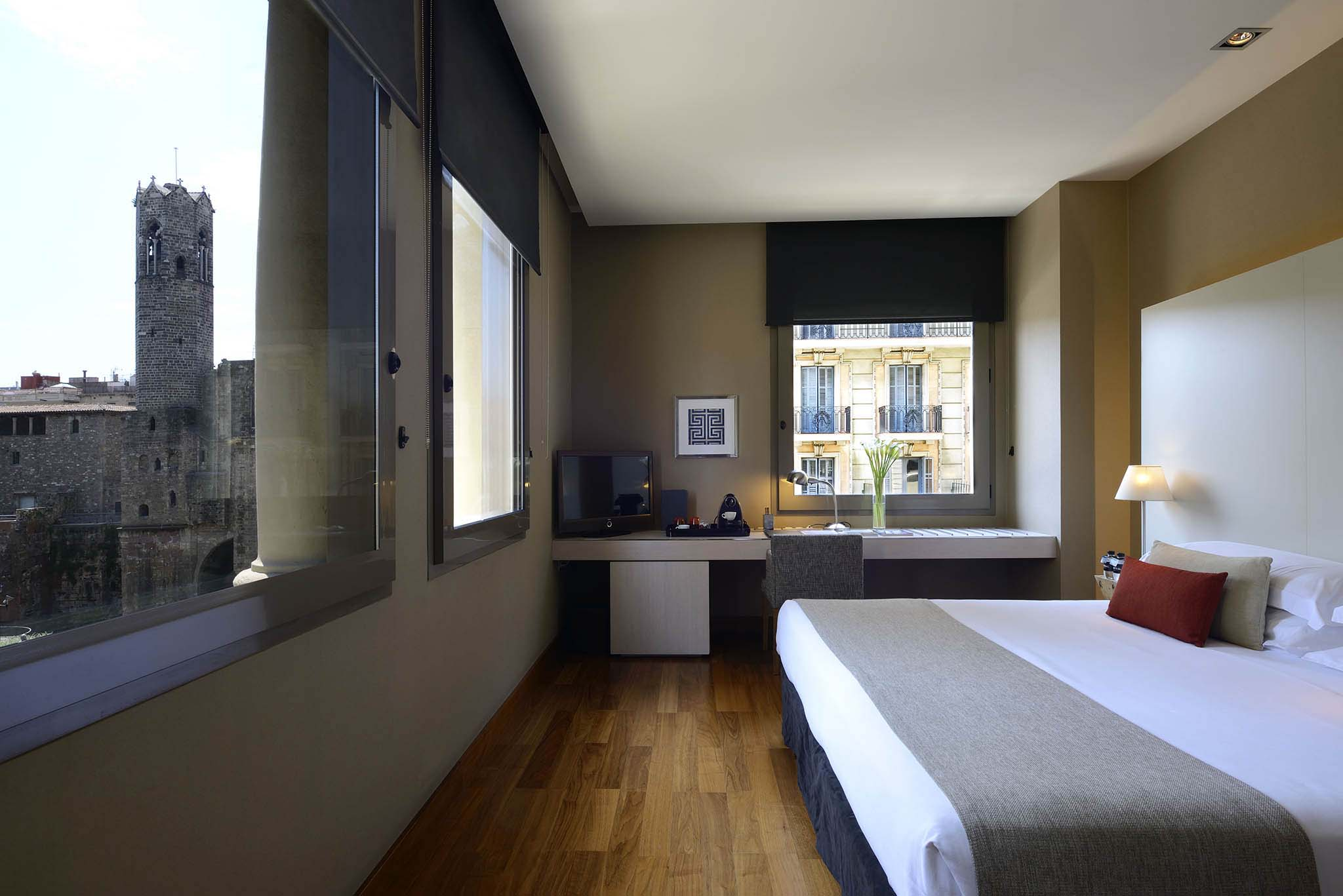 Grand Hotel Barcelona is one of the top luxury hotels in Barcelona with city view rooms