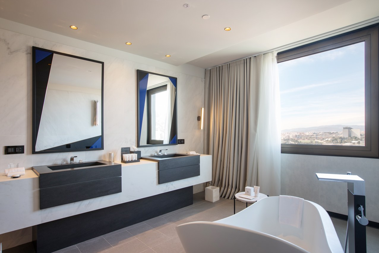 Hotel SOFIA luxury hotels in Barcelona deluxe room with city view
